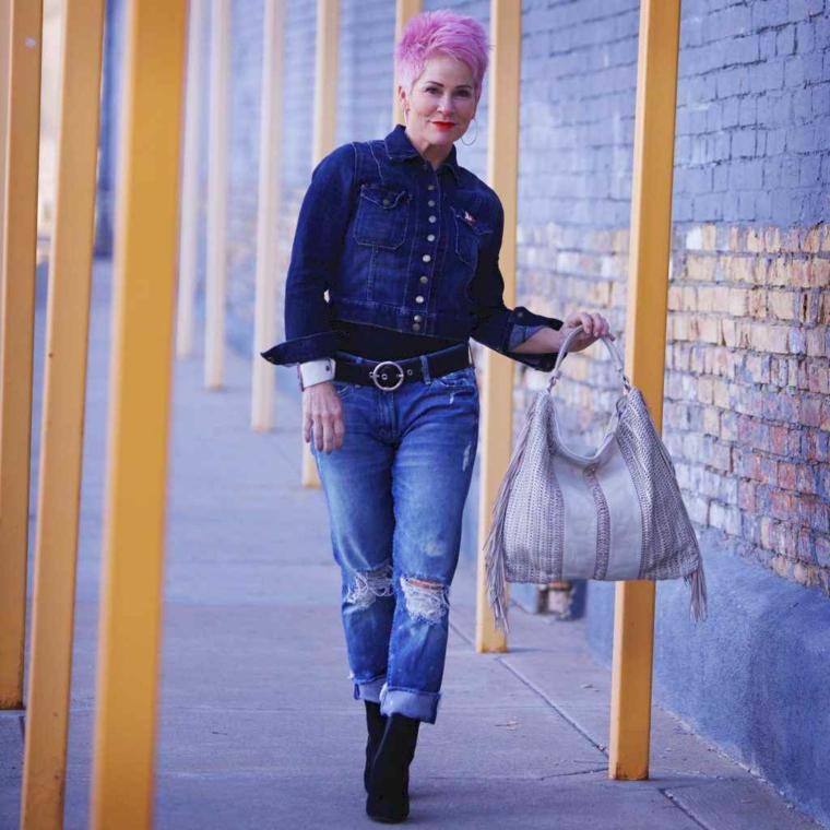Casual outfit per donna over 50, Tagli di capelli corti per donne cinquantenni