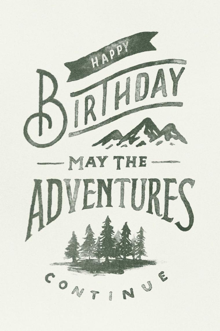 Immagini auguri di compleanno simpatici, cartolina con scritta in inglese Happy Birthday