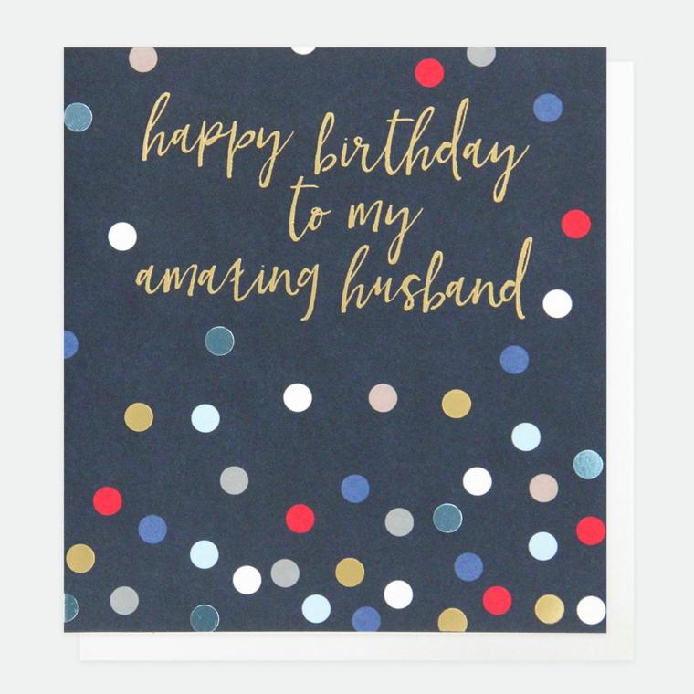 Cartolina compleanno marito, come augurare buon compleanno
