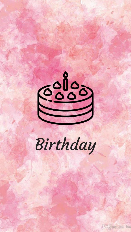 Tanti auguri di buon compleanno, cartolina con disegno di una torta con candela
