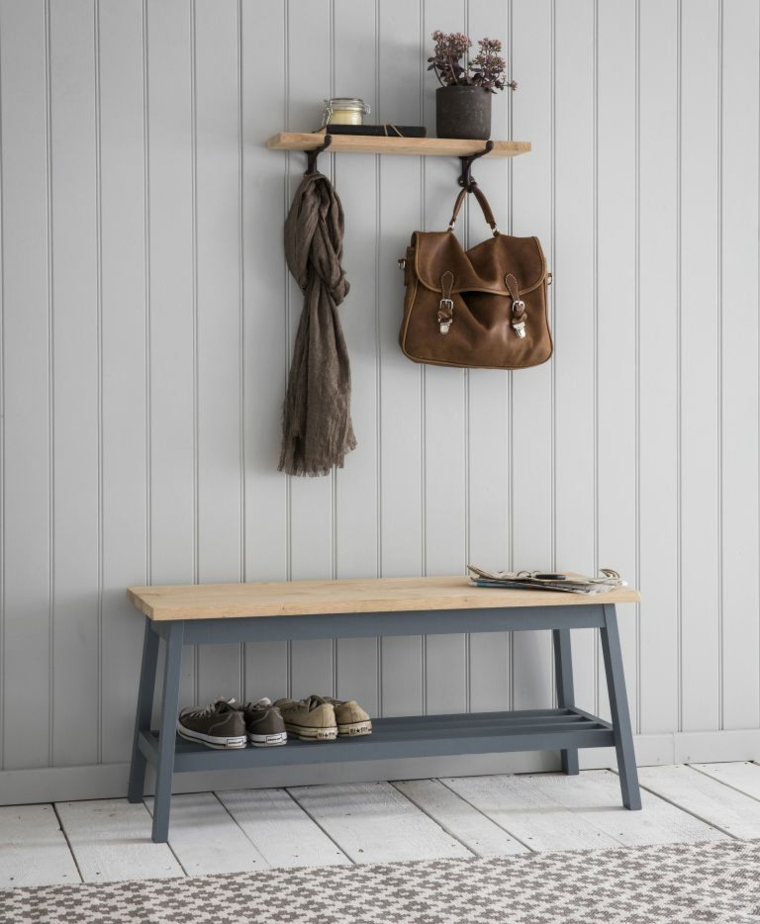Come costruire una scarpiera, panchina di legno scaffale per le scarpe
