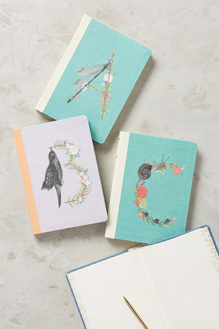Idee regalo anniversario per lui, quaderno con copertina personalizzata