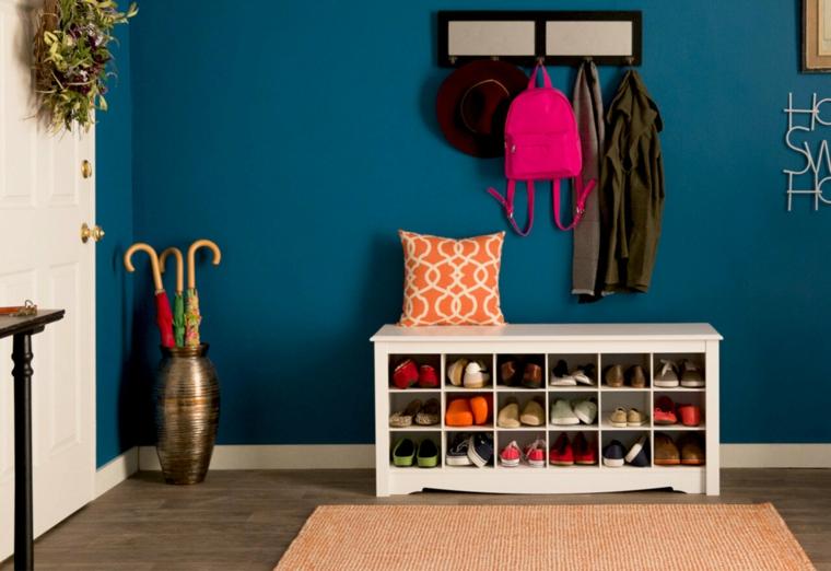 Come costruire una scarpiera, mobile di legno con scaffali per le scarpe