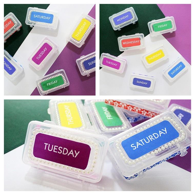 Idee regalo festa dei nonni, scatole di plastica per medicinali con giorni della settimana
