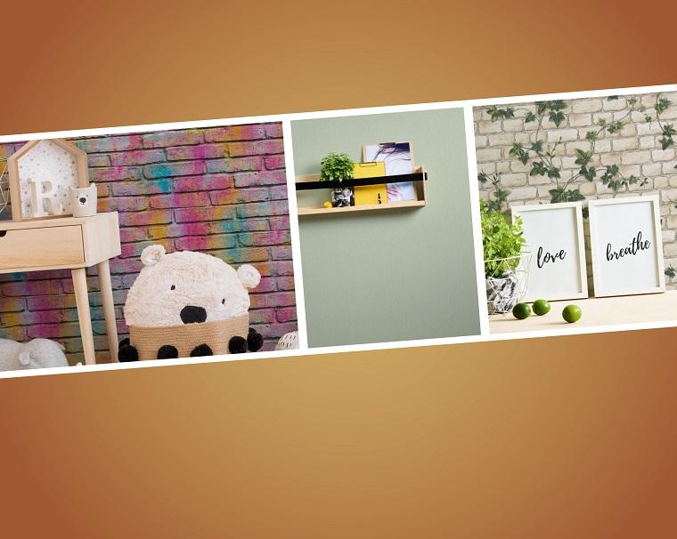 Carta da parati per la cucina, foto di tipi di carta da parati con stampe