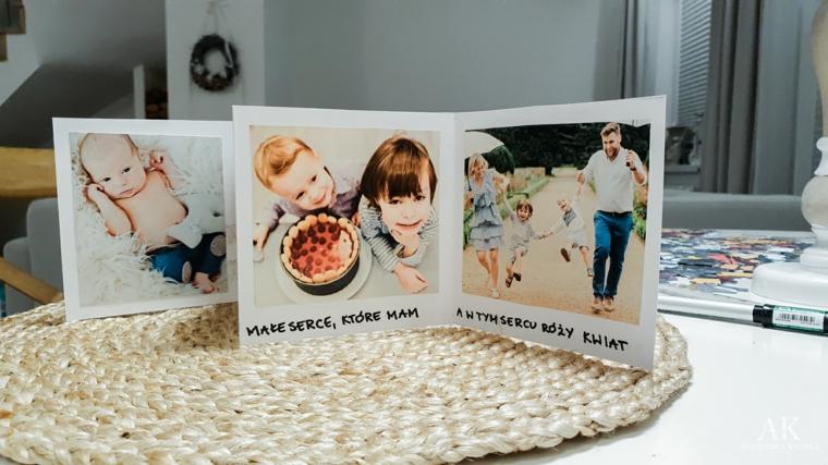 Cartoline con fotografie e scritte, idea regalo per i nonni e la loro festa