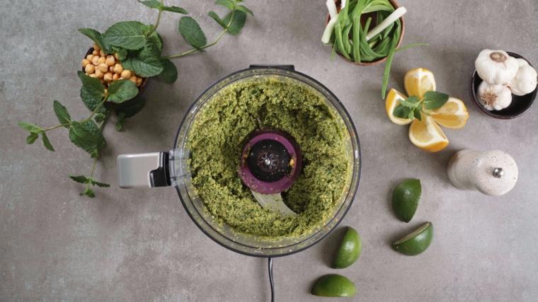 antipasti veloci e sfiziosi freddi robot da cucina ingredienti falafel ceci aglio verdure