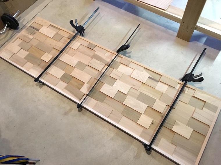 Tutorial come fare una testata letto di legno, come rivestire una testata del letto