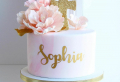 Torta per battesimo bimba: le più belle con pasta di zucchero e panna!