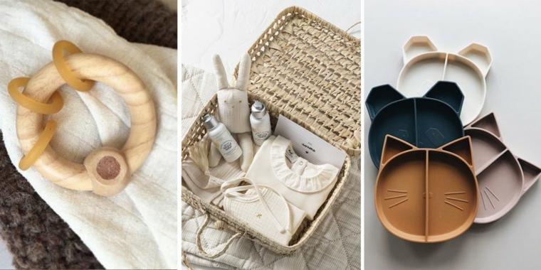 giocattoli idee regalo per battesimo bimba scatola vestitini piattini legno accessori