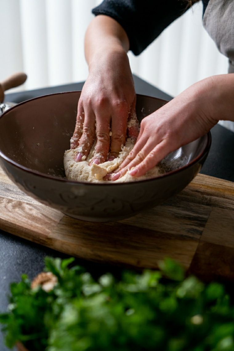 impastare impasto naan ricetta buffet freddo da fare il giorno prima prezzemolo