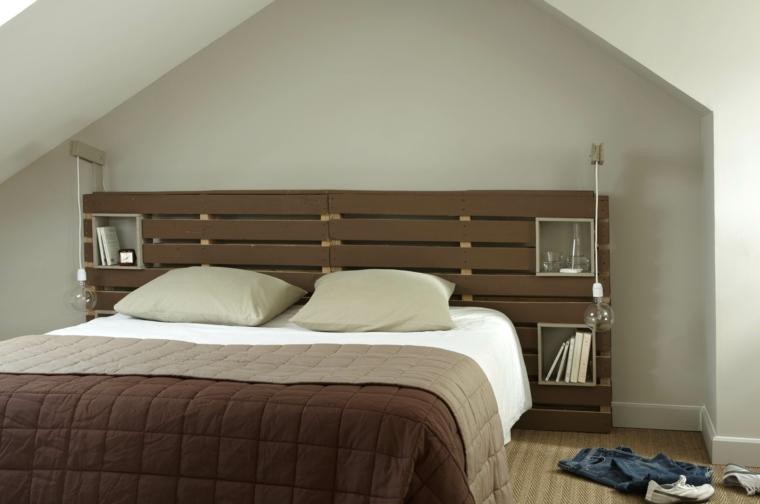 Come rivestire una testata del letto, bancale di legno come testata del letto