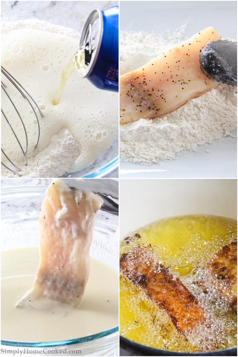 preparazione tempura frittura merluzzo pesce stuzzichini veloci ed economici per aperitivo