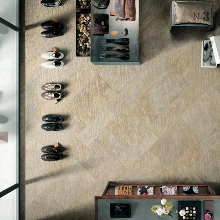 quarzo casa rivestimento pavimento piastrelle colore beige armadio stanza scarpe