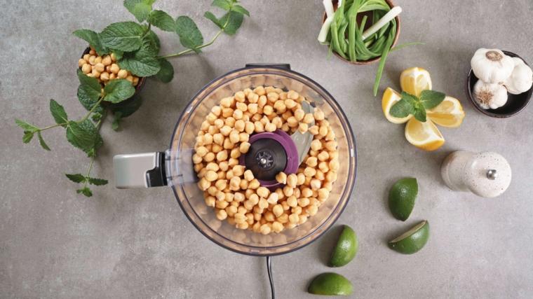 stuzzichini per aperitivo economici robot da cucina falafel lime limone aglio