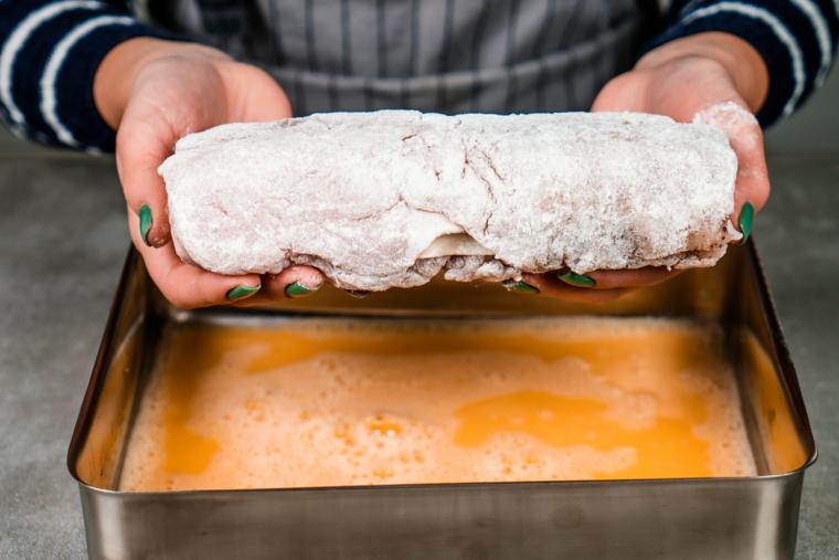 stuzzichini veloci per aperitivo in casa panatura farina uova sbattute ricetta cordon bleu