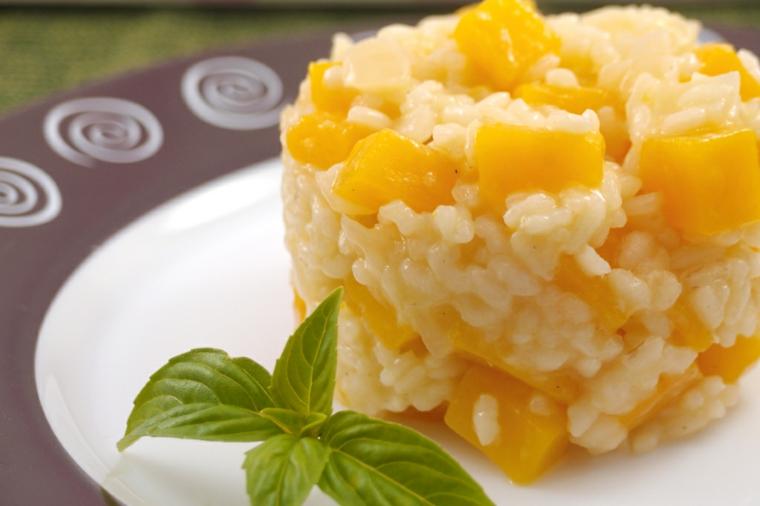 tartare riso bianco mango foglia di basilico cena veloce ed economica piatto