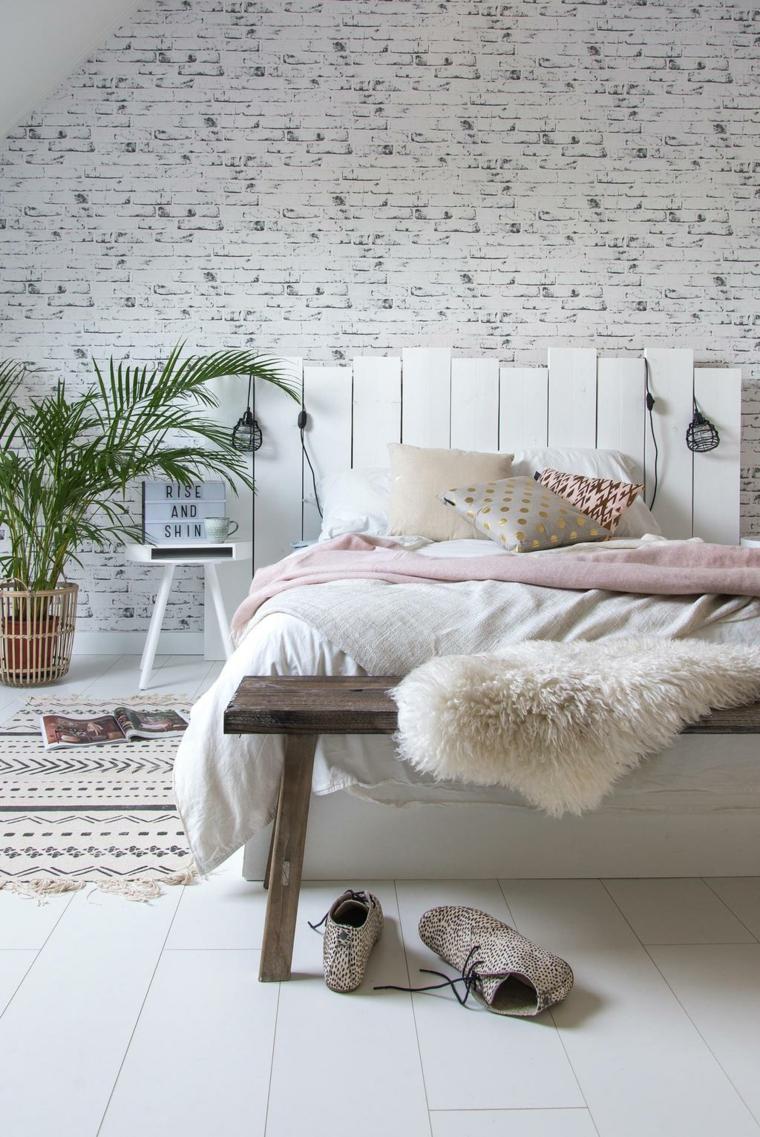 Testata letto fai da te tutorial, bancale di legno come testata del letto