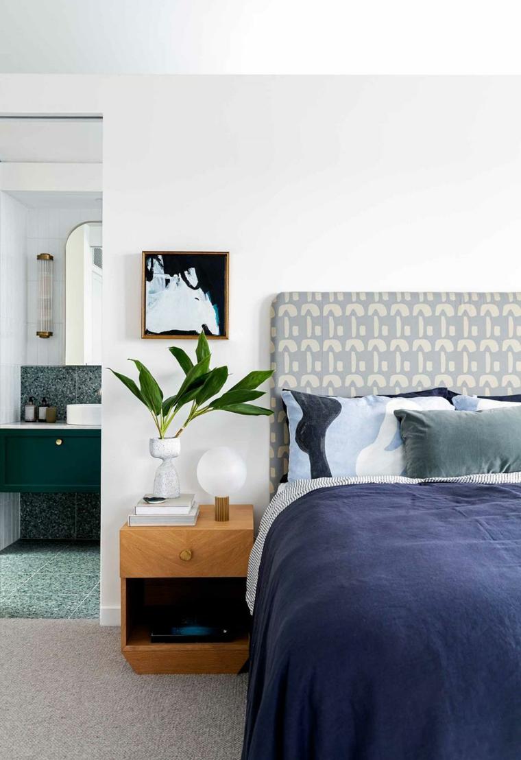 camera da letto comodino piante foglia larga da appartamento bagno vista vaso