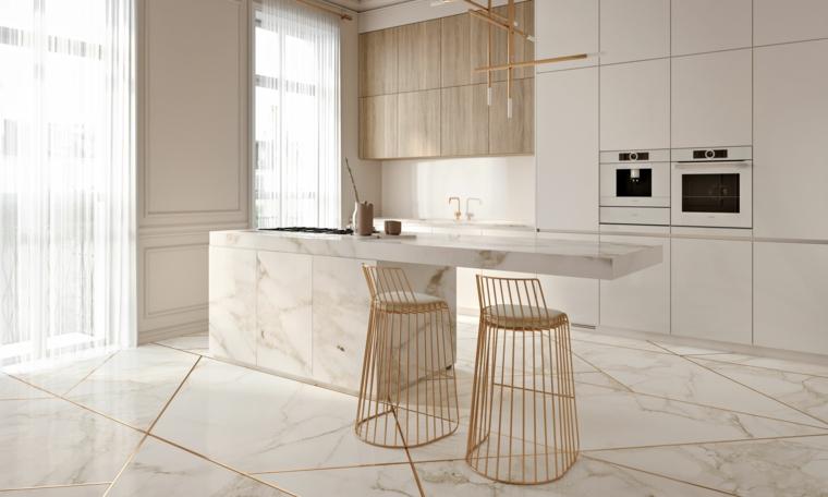 1001 Idee Per Cucine Moderne Con Penisola Di Vari Modelli