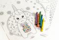 50 disegni di Unicorno da colorare per bambini e adulti!