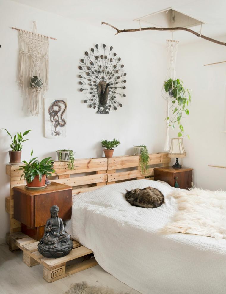 piante da appartamento resistenti letto pallet camera comodino vasi vegetali decorazioni pareti