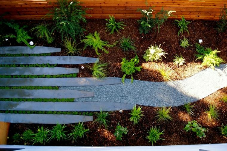 pietre per aiuole da giardino sentiero piante grasse terriccio giardinaggio