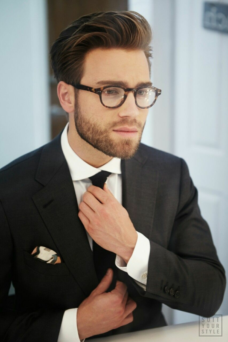 montature occhiali da vista uomo 2020 modello goccia acetato colore marrone