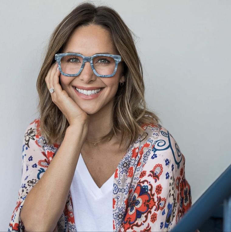 occhiali da vista autunno inverno 2020 donna montatura acetato colorato modello quadrato