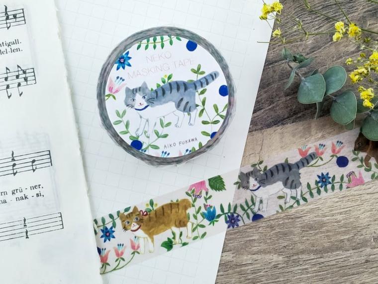 quaderno a puntini bullet agenda nastro washi tape colorato rametti fiori