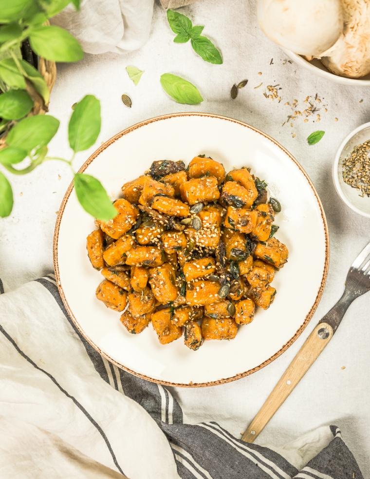 gnocchi di patate dolic piatto per un apericena fatto in casa