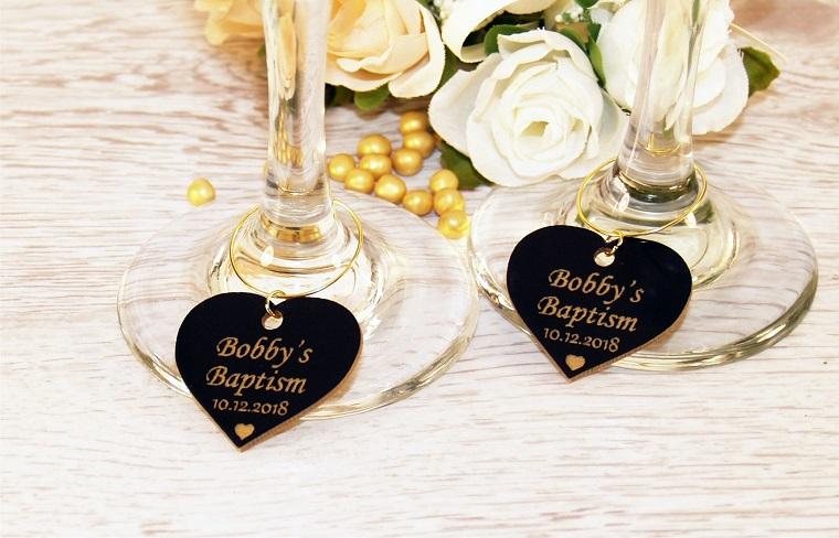 idee per le bomboniere battesimo regalino padrini cuore di argento con scritta personalizzata