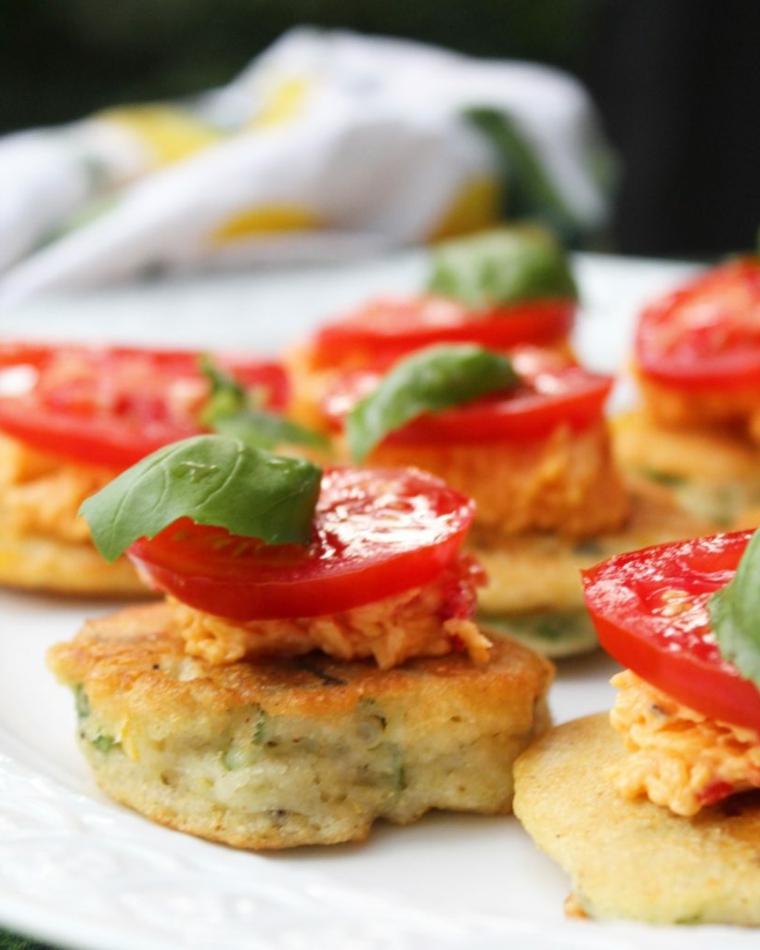 polpette di patate con pomodorini e basilico cena a buffet ricette sfiziose