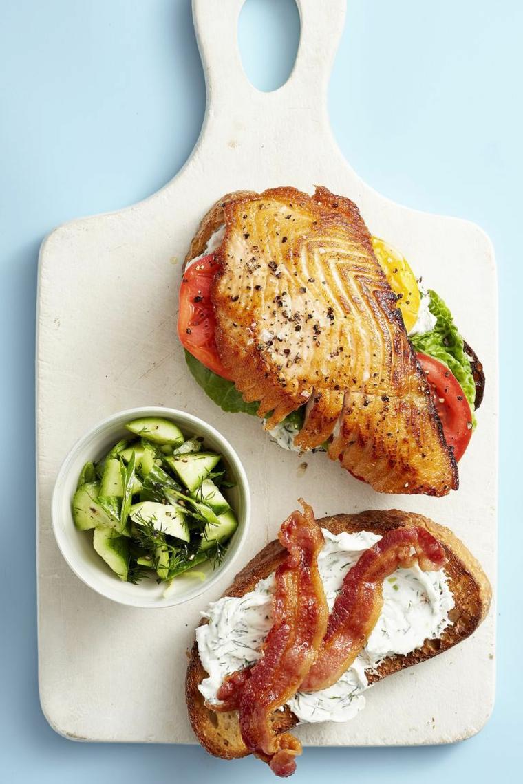 ricette semplici e veloci panino con pane integrale e verdure toast con formaggio