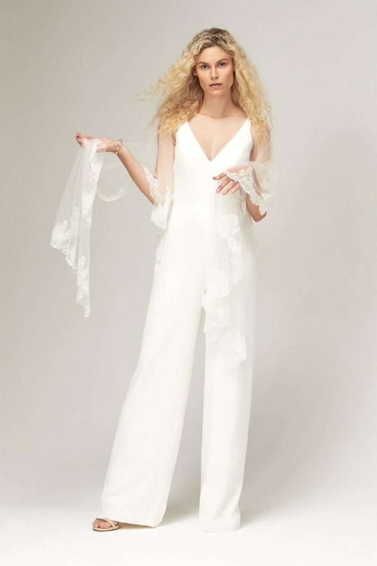 savannah miller tailleur da sposa abiti da sposa collezione 2021 con velo trasparente