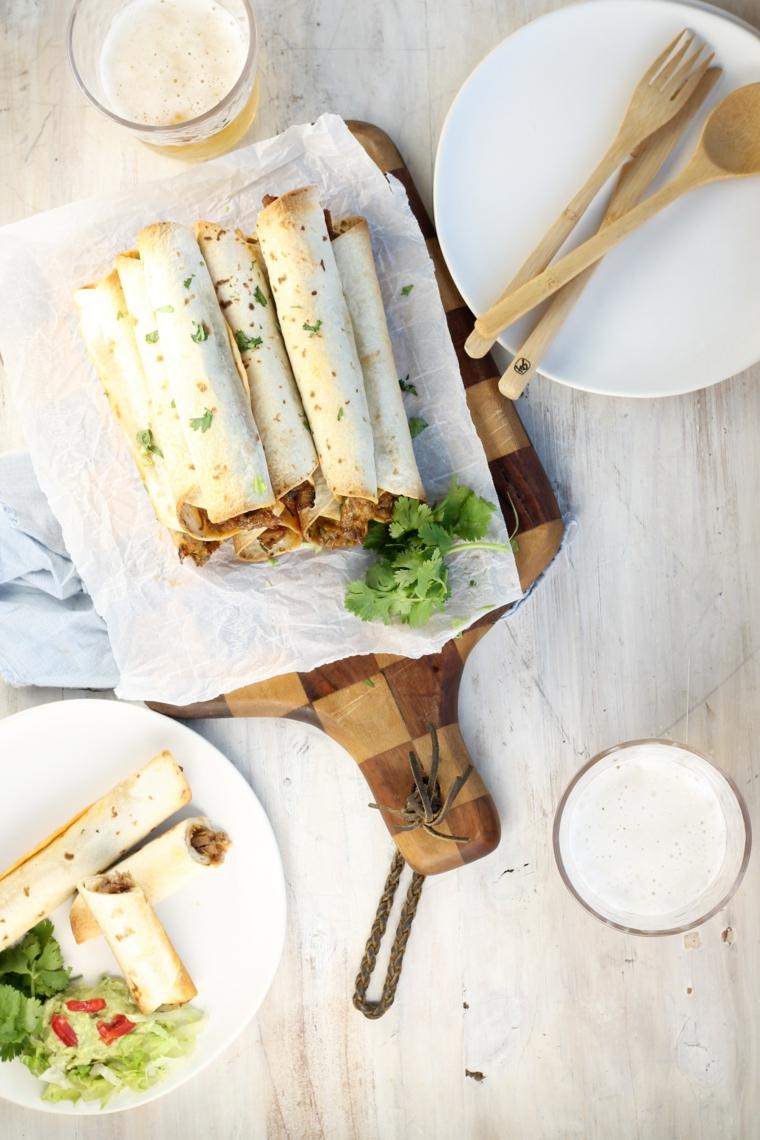 tacos con verdure e carne macinata antipasti veloci ed economici