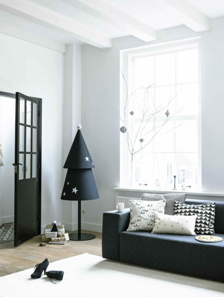 alberello natalizio alternativo di metallo soggiorno stile nordico addobbi di natale fai da te 2020