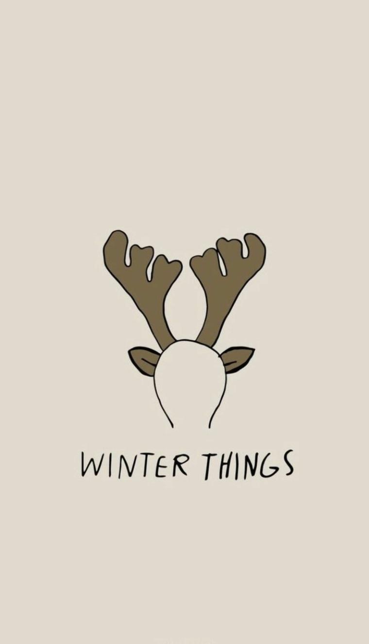 immagini natalizie da scaricare disegno di cerchietto con orecchie renna e scritta