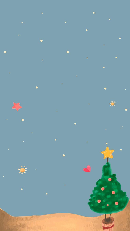 immagini paesaggi natalizi disegno albero di natale con stella sfono azzurro