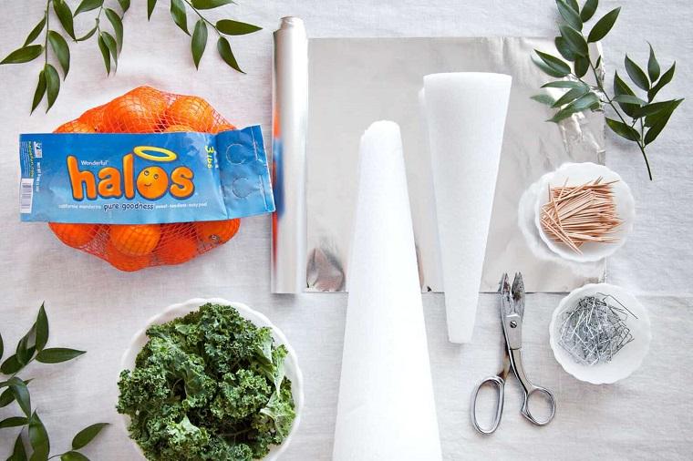 materiali per addobbi natalizi come apparecchiare la tavola a natale fai da te