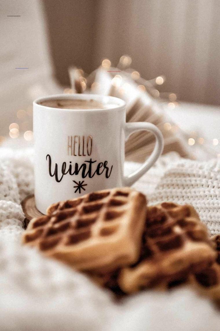 tazza di cioccolata calda e dolci immagini natalizie bellissime