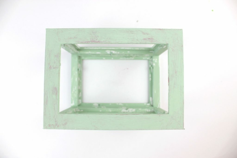 candele di natale tutorial per portacandele di cornici per fotografie