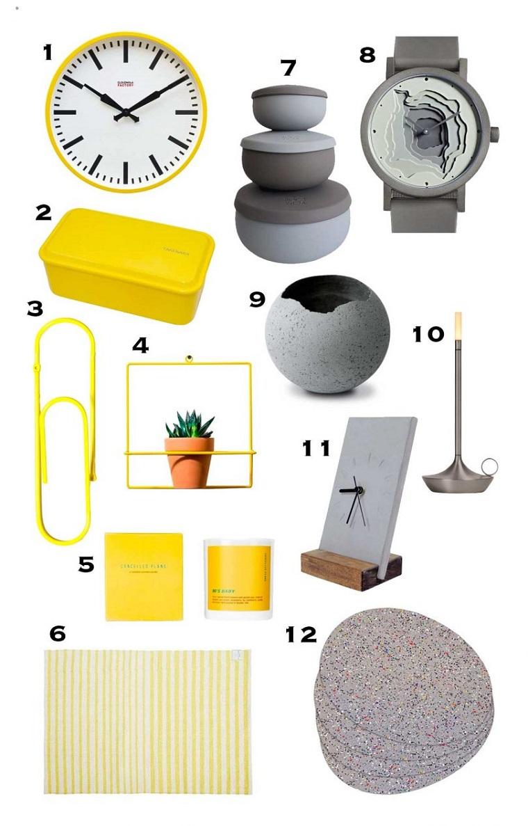 oggetti decorativi per la casa mazzetta colori pantone accessori in ultimate gray illuminating