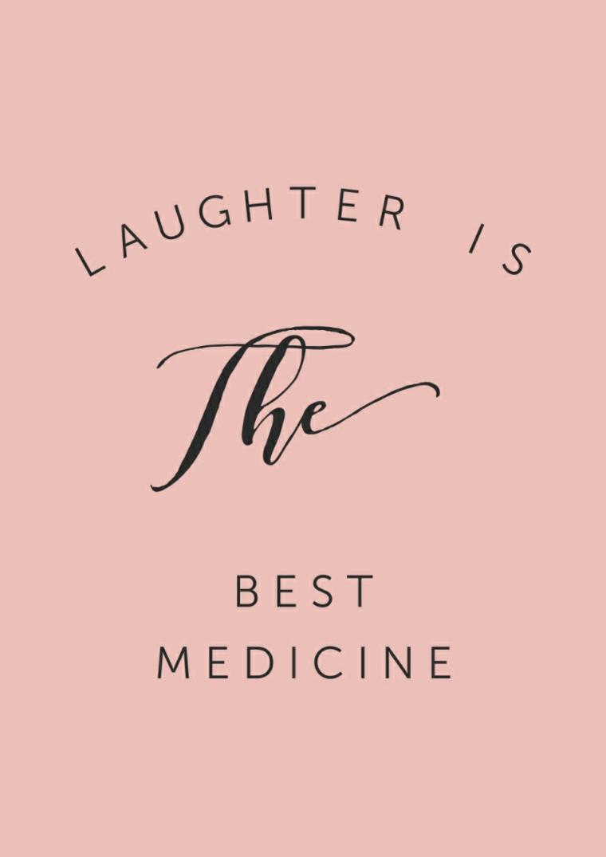 aforismi sui sorrisi come medicina frasi per incoraggiare una persona su sfondo rosa