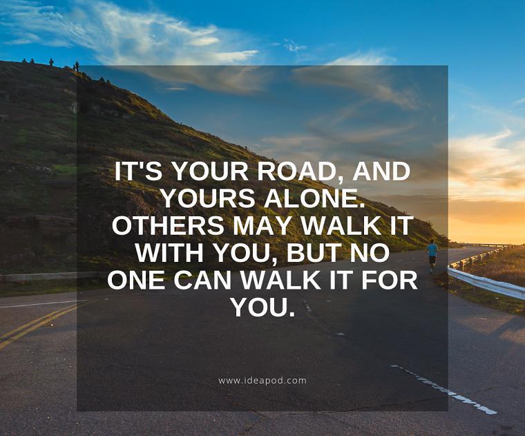citazioni sul cammino della vita frasi per incoraggiare ad andare avanti