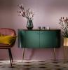 colori da abbinare al verde parete viola mobile da salotto vintage vasi con piante