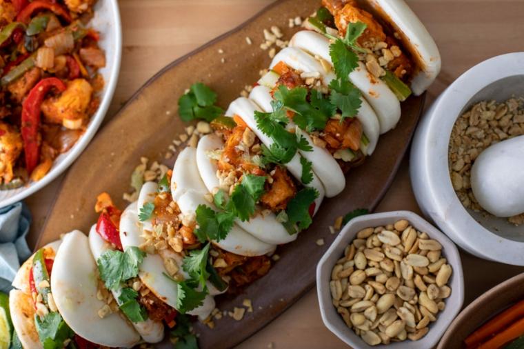 antipasti vegani facilissimi tofu con aglio e peperoncino piccante