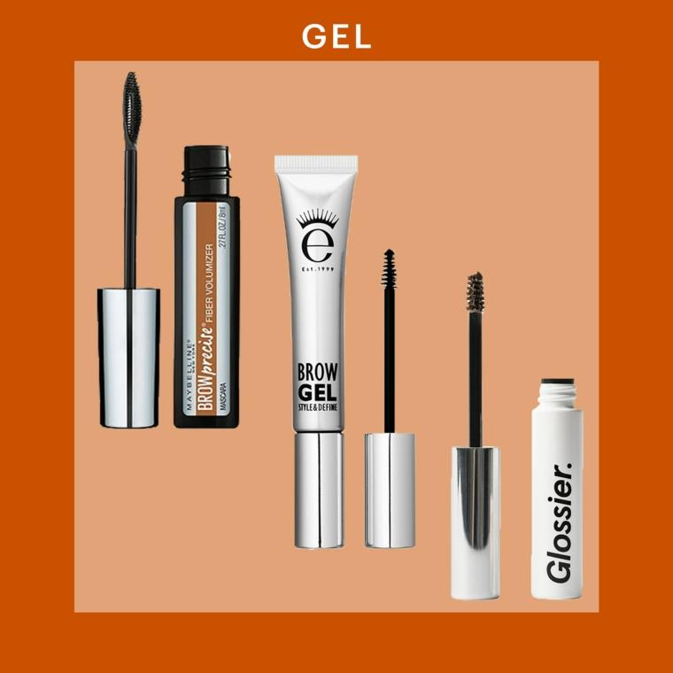 come infoltrire le sopracciglia cosmetici in gel effetto mascara