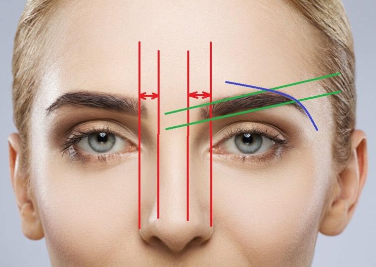 forma sopracciglia perfette come togliere i peli con pinzetta viso donna