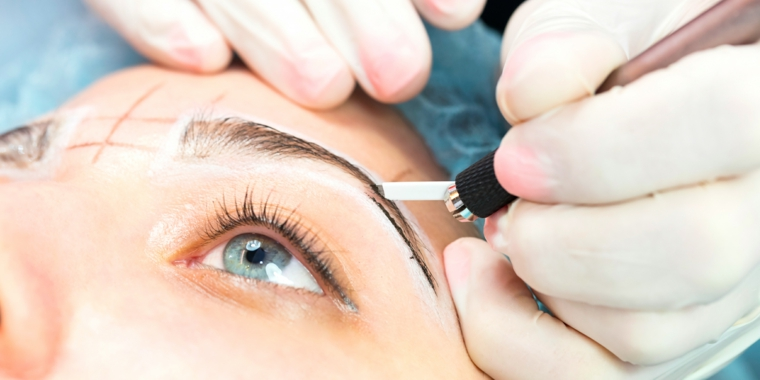 microblading trucco permanente viso come avere sopracciglia perfette